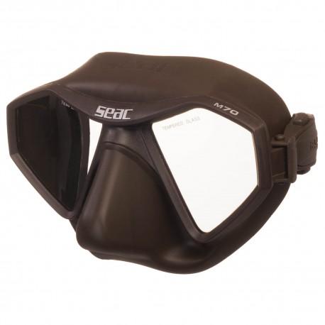 Maska SEAC M70 Brązowa