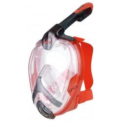 Maska pełnotwarzowa UNICA BLACK/RED L/XL
