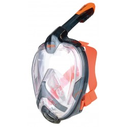Maska pełnotwarzowa UNICA BLACK/ORANGE L/XL