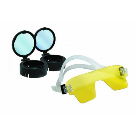 Zestaw Fluoro Dive - Duże latarki